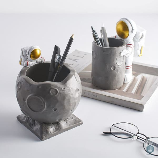 Astronaut Pen Holder - Astronaut, Pen Holder Luxury Home Decor