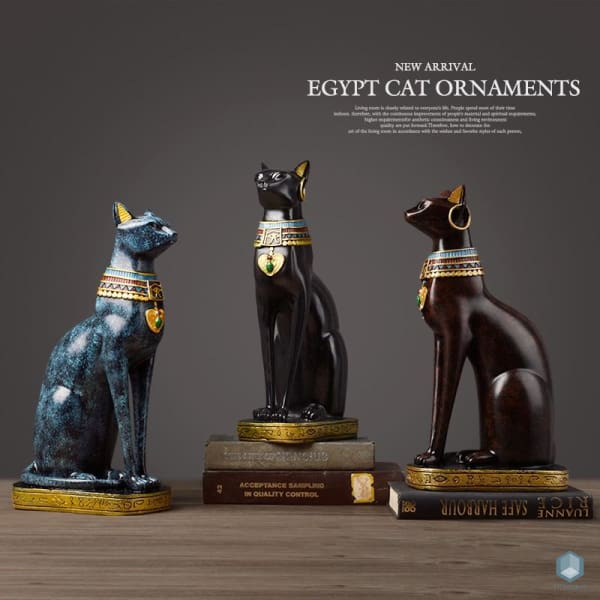 Egyptian Cat Figurine - Figurine Luxury Home Decor