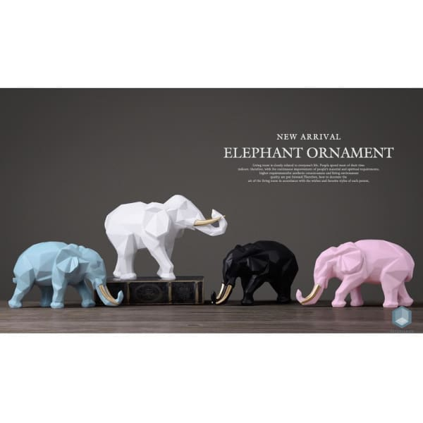 Elephant Figurine - Figurine Luxury Home Decor