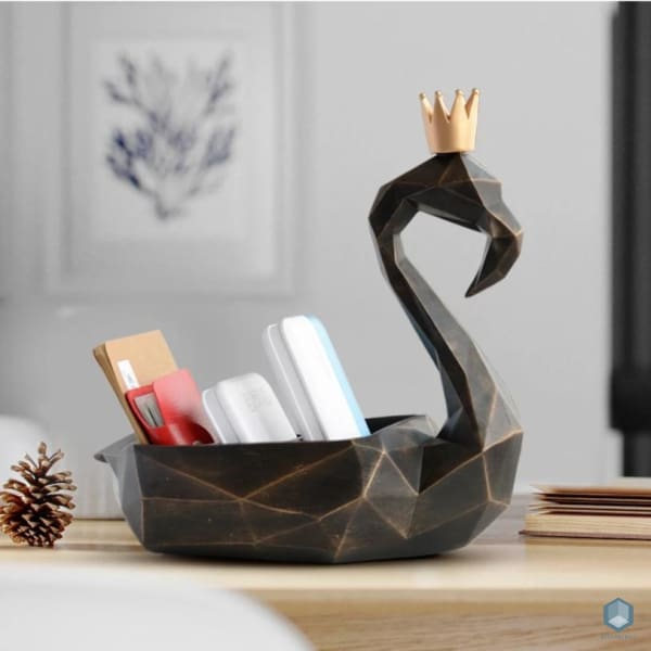 Flamingo Storage Organizer - Storage Organizer Luxury Home Decor