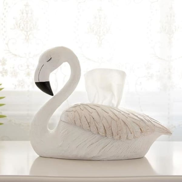 Flamingo Tissue Holder - Tissue Holder Luxury Home Decor