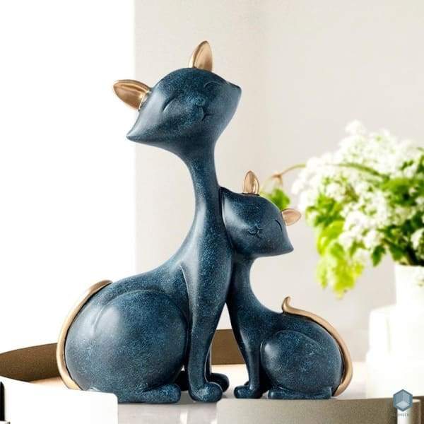 Mom & Kitten - Statue Luxury Home Decor