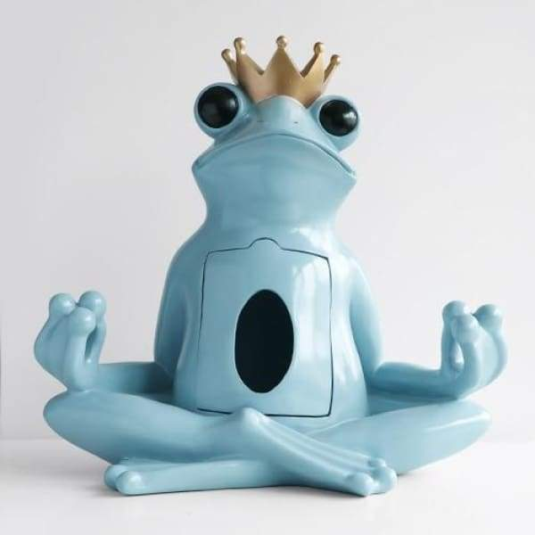 Yoga Frog Tissue Holder - Tissue Holder Luxury Home Decor