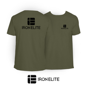 IE Symbol | T-Shirt | Military Green/Black Print