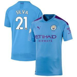 Manchester City Puma Home 2019/20 Custom Player Jersey - Blue - plkits.com