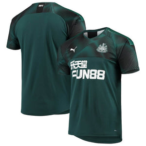 New Castle Puma Away 2019/20 Custom Player Jersey - Green - plkits.com