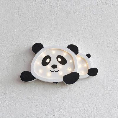 Nordic Style LED Panda Penguin Night Light - Minimalist Nordic