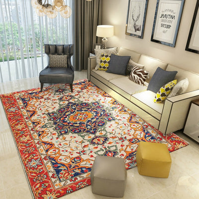 Turkish rugs | Persian Area Rugs | large Rugs for living room - Minimalist Nordic