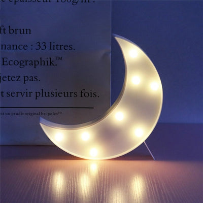 LED 3D Lamp For Kids - Minimalist Nordic