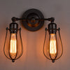 Vintage Iron Single Double-head Wall Lamp - Minimalist Nordic