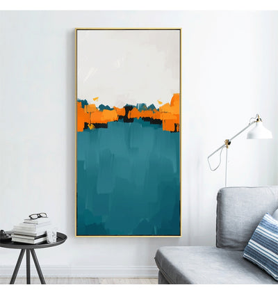 Abstract Multi Colors Canvas Print Paintings