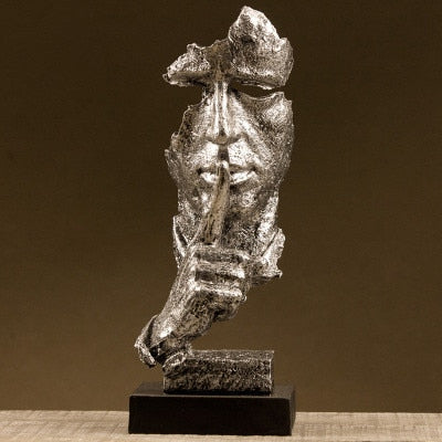 Abstract Sculpture Figurine Ornaments - Minimalist Nordic