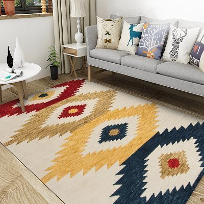 Morocco Rugs For Living Room - Minimalist Nordic
