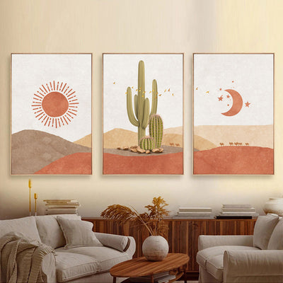 Sun And Moon-Scene-Boho-Cactus-Wall-Art-Picture.jpg