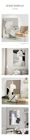 Nordic Gray Texture Wall Picture