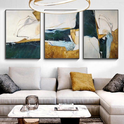 Modern Oil Paintings Nordic Wall Art