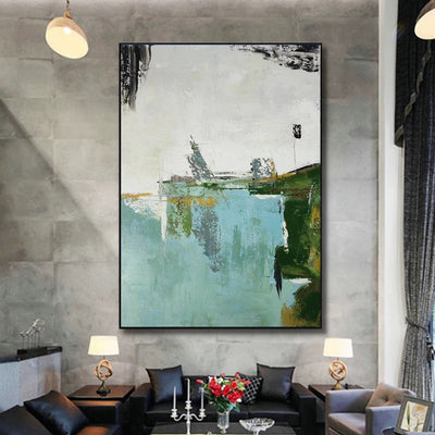 Canvas Modern Abstract Wall Art - Minimalist Nordic