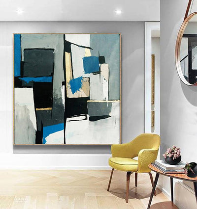 Canvas Modern Abstract Wall Picture - Minimalist Nordic