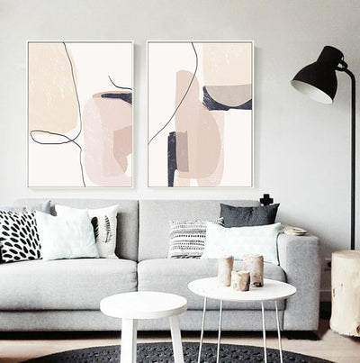 Art Painting Decorative Wall Picture - Minimalist Nordic