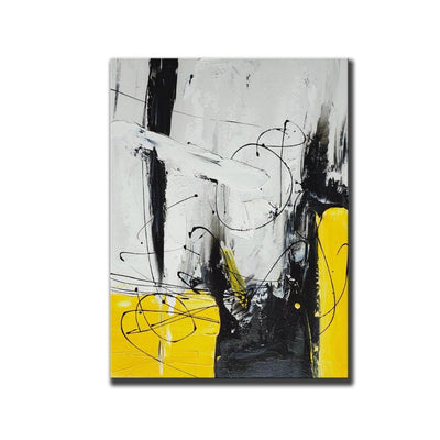 Abstract Canvas Modern Wall Art - Minimalist Nordic