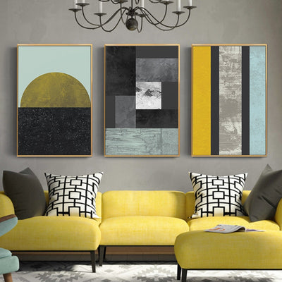 Three-piece Painting Wall Picture - Minimalist Nordic