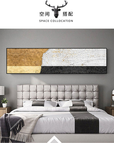 Gold Light Black And White Banners - Minimalist Nordic