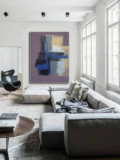 Large Abstract Wall Art Poster - Minimalist Nordic