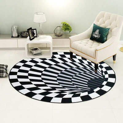 Vortex Illusion Rug for UK