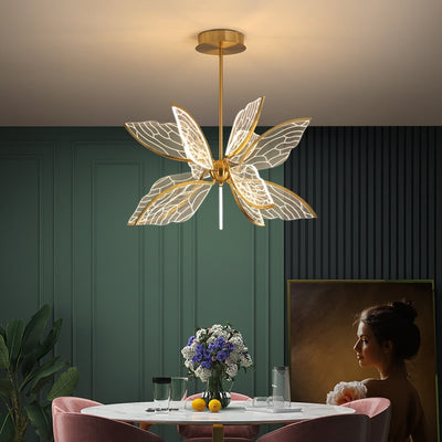 Butterfly Living Room LED Pendant Lamp