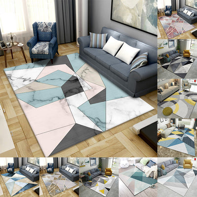 Modern Geometric Pattern Carpet Living Room Rug