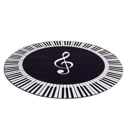 Piano Keys Round Rugs For sales - Minimalist Nordic