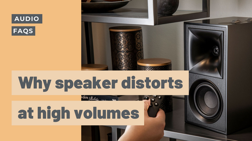 Why Cheap Speakers Distort at High Volumes