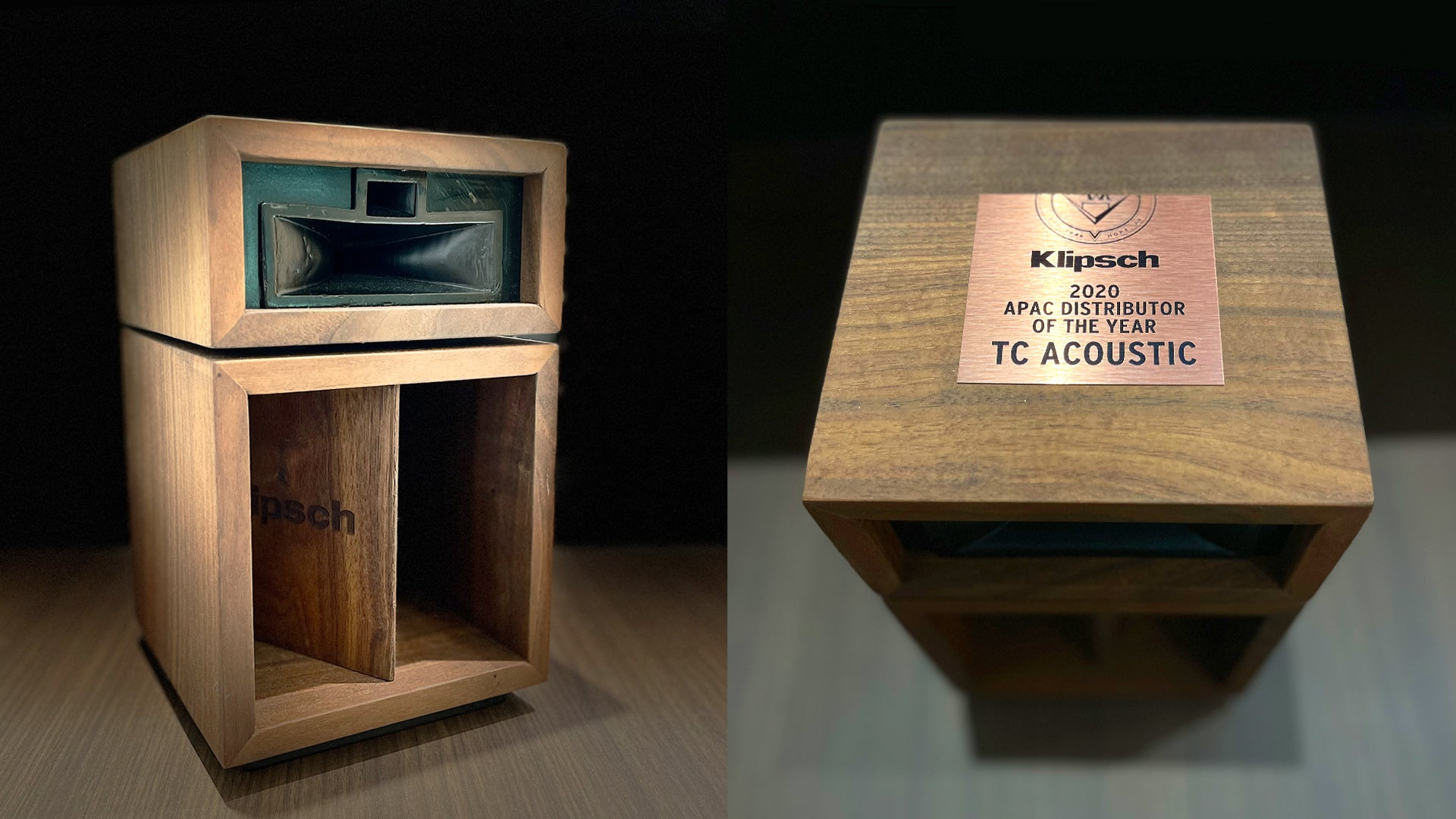 TC Acoustic was awarded Klipsch Top Asia-Pacific Distributor Award
