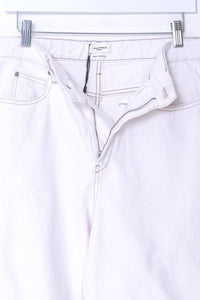 White jeans by Isabel Marant