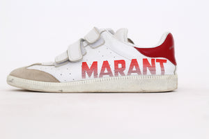 Sneaker with velcro closure  by Isabel Marant