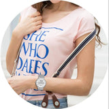 Women's Super Slim Stainless Steel Watch