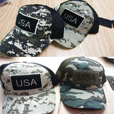 Trucker Hats With USA Flag Patches