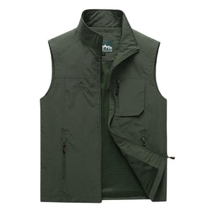 Thin Outdoors Vest - Plus Sizes Available Up To 7XL! - Drestiny