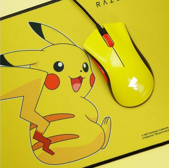 RAZER x Pokémon Mouse, Mousepad & Keyboard Bundle - RAZER Pokemon Pikachu
