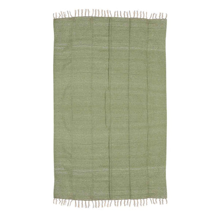 Mica Decorations plaid groen maat in cm: 170 x 130