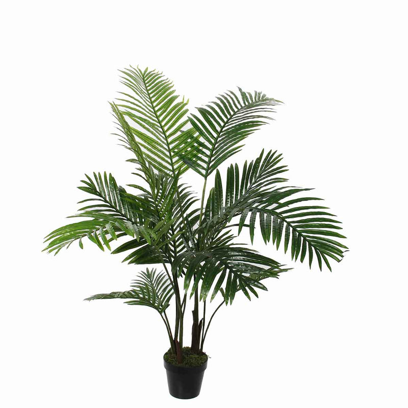 Mica Decorations areca palm in pot maat in cm: 120 x 60