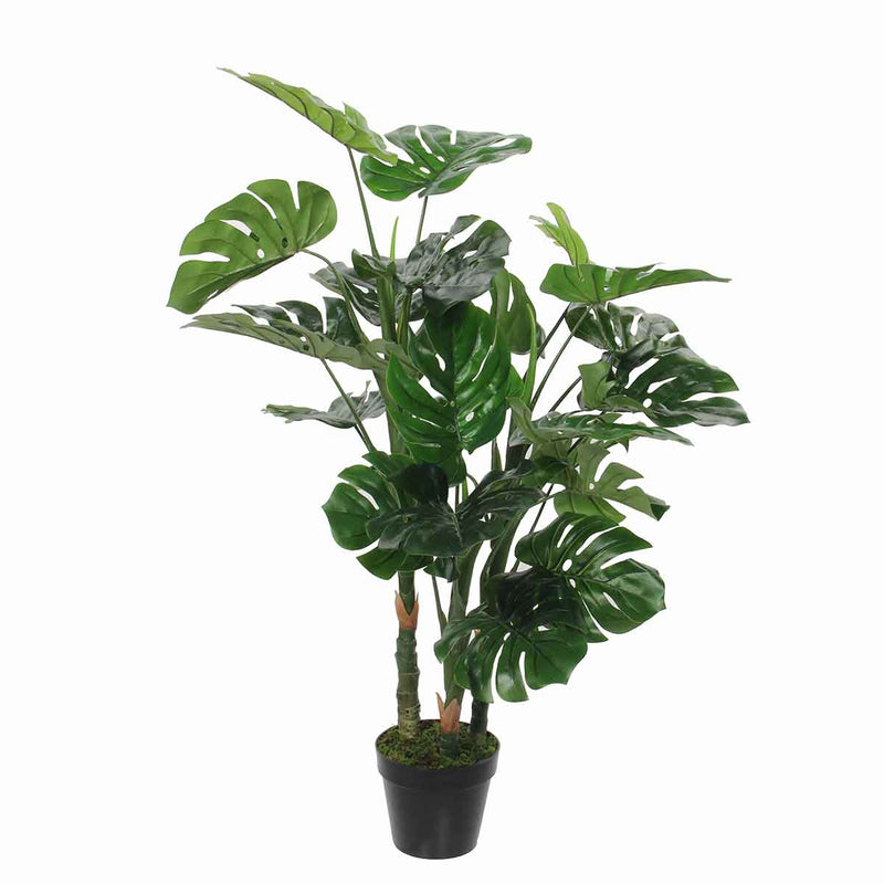 Mica Decorations monstera maat in cm: 100 x 75 in pot