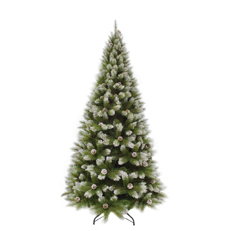 Triumph Tree pittsburgh kerstboom dennenappel groen tips 940 maat in cm: 230 x 124