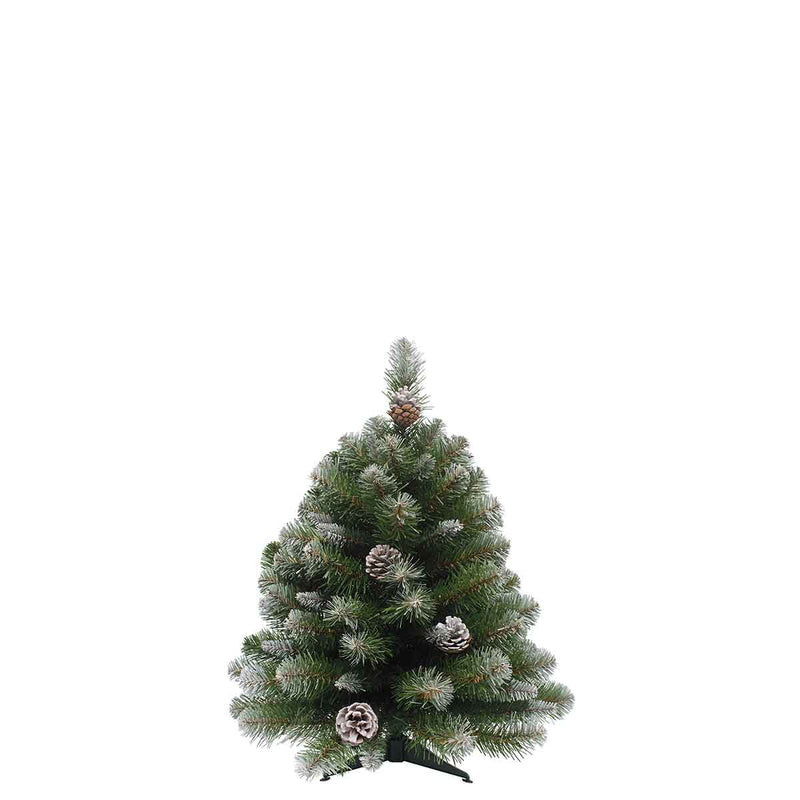 Triumph Tree Empress kunstkerstboom frosted maat in cm: 90 x 61 groen