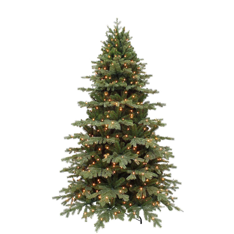 Triumph Tree sherwood kerstboom deluxe led pro groen 656 lampjes tips 2309 maat in cm: 230 x 142