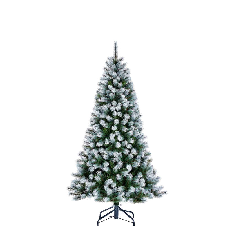 Black Box Kingston Kunstkerstboom - H185 x Ø102 cm - Groen Frosted