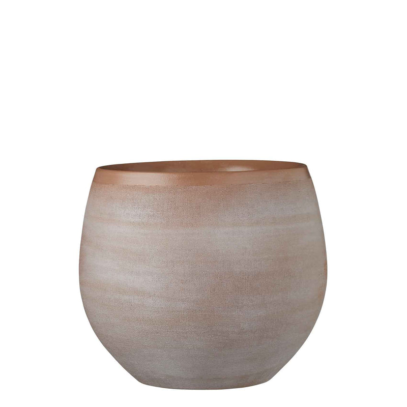 Mica Decorations douro pot rond taupe maat in cm: 25 x 29