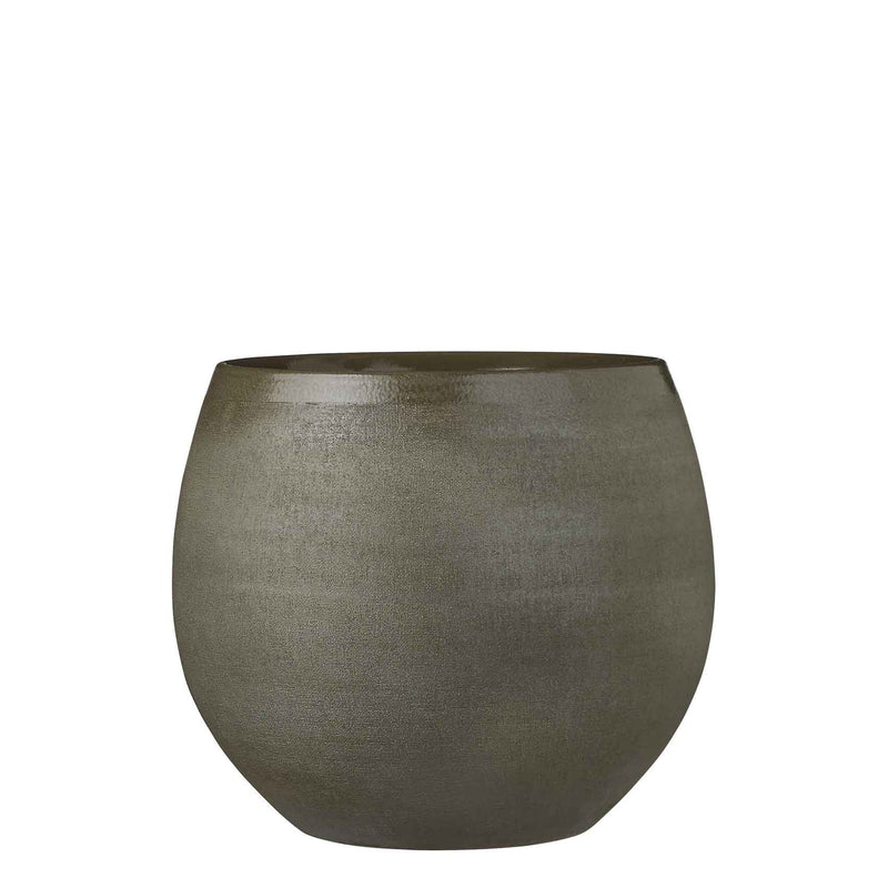 Mica Decorations douro pot rond groen maat in cm: 25 x 29