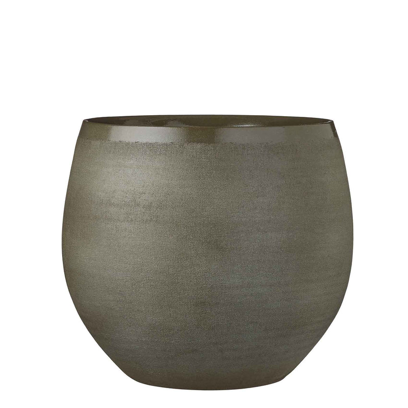 Mica Decorations douro pot rond groen maat in cm: 28 x 33