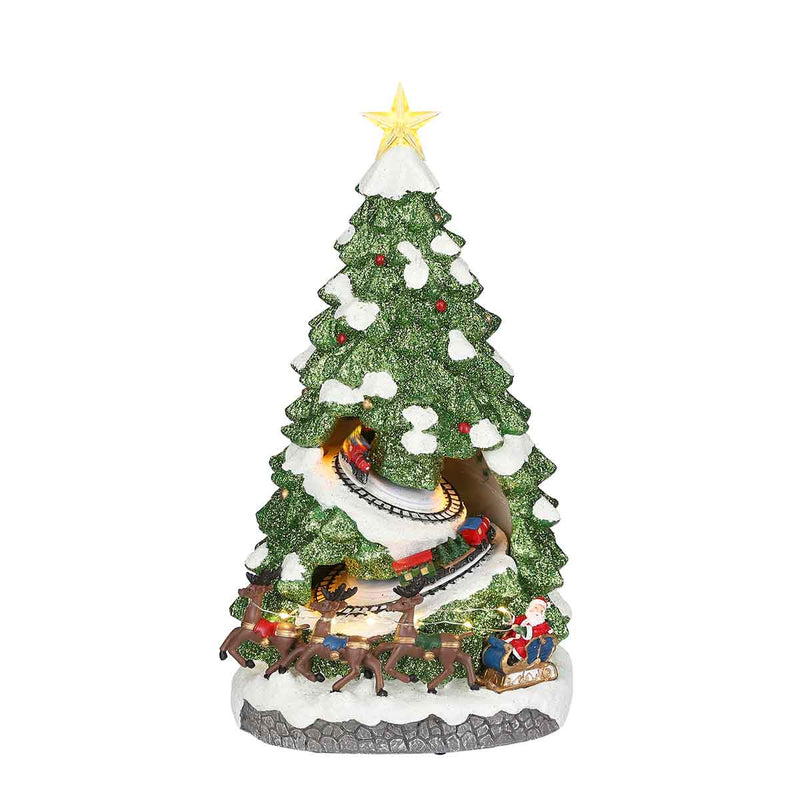 Christmas tree express battery operated - h38,5xd21cm